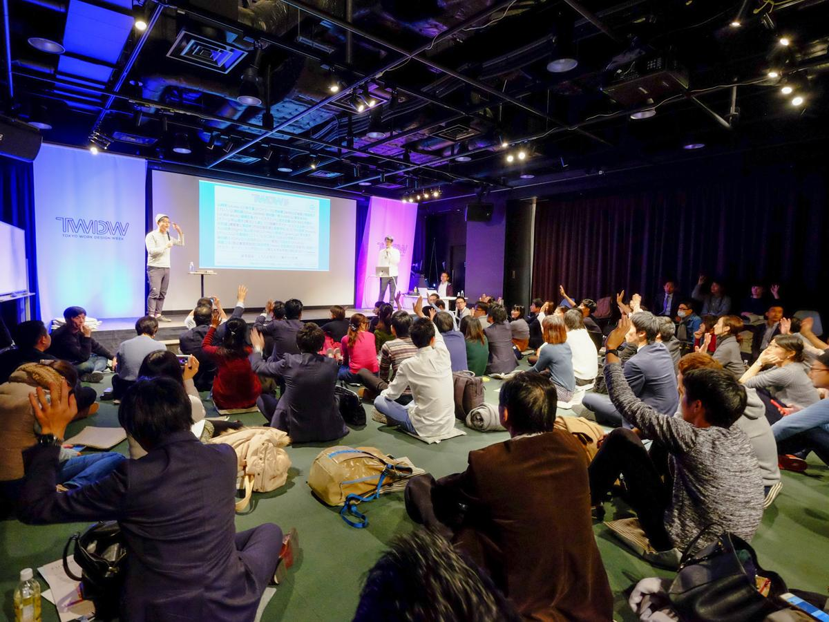 昨年(2017年)開催時の会場の様子