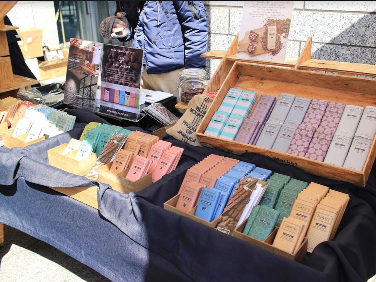 ビーントゥーバーチョコレートショップなど25店が出店する(写真はブースイメージ)