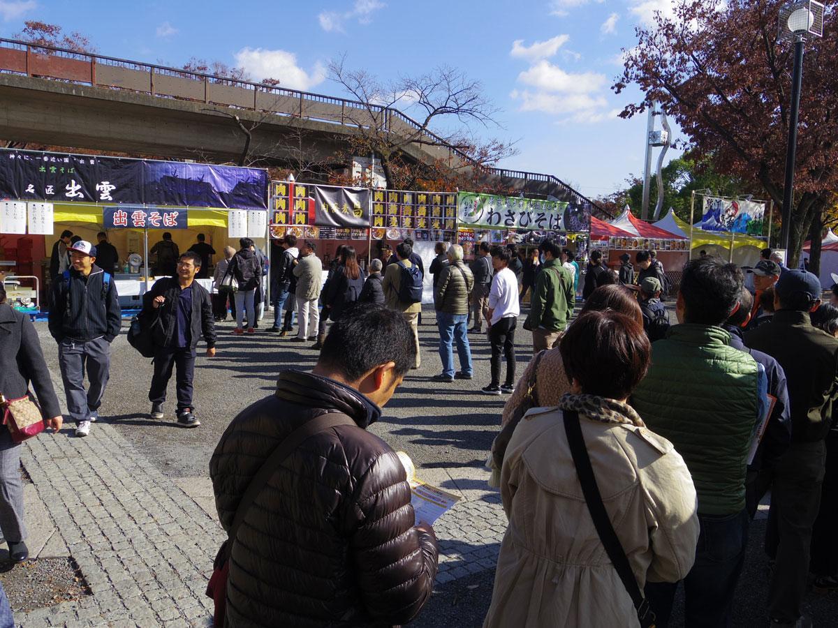 1543477107 photo - 蕎麦・日本酒好きは代々木公園に集合!そばと日本酒の博覧会「大江戸和宴」