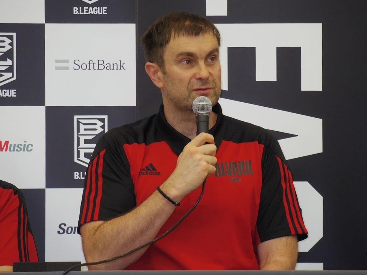 2017-18シーズンからA東京を率いるルカ・パヴィチェヴィッチヘッドコーチ