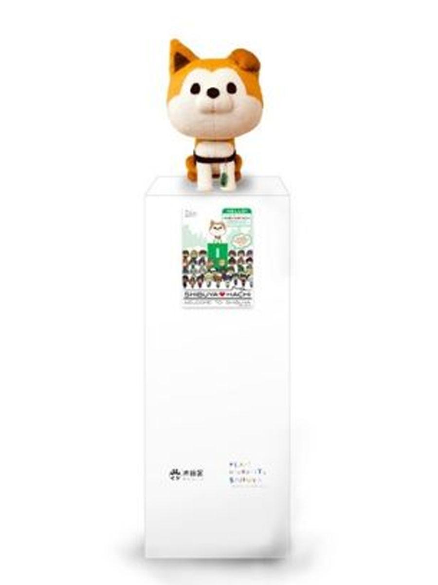 忠犬ハチ公像の隣に設置するマスコットのイメージ