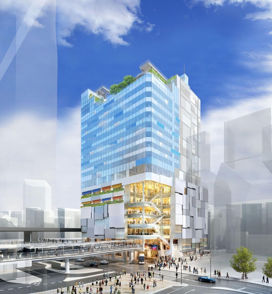 「渋谷フクラス」外観イメージ(北東側)