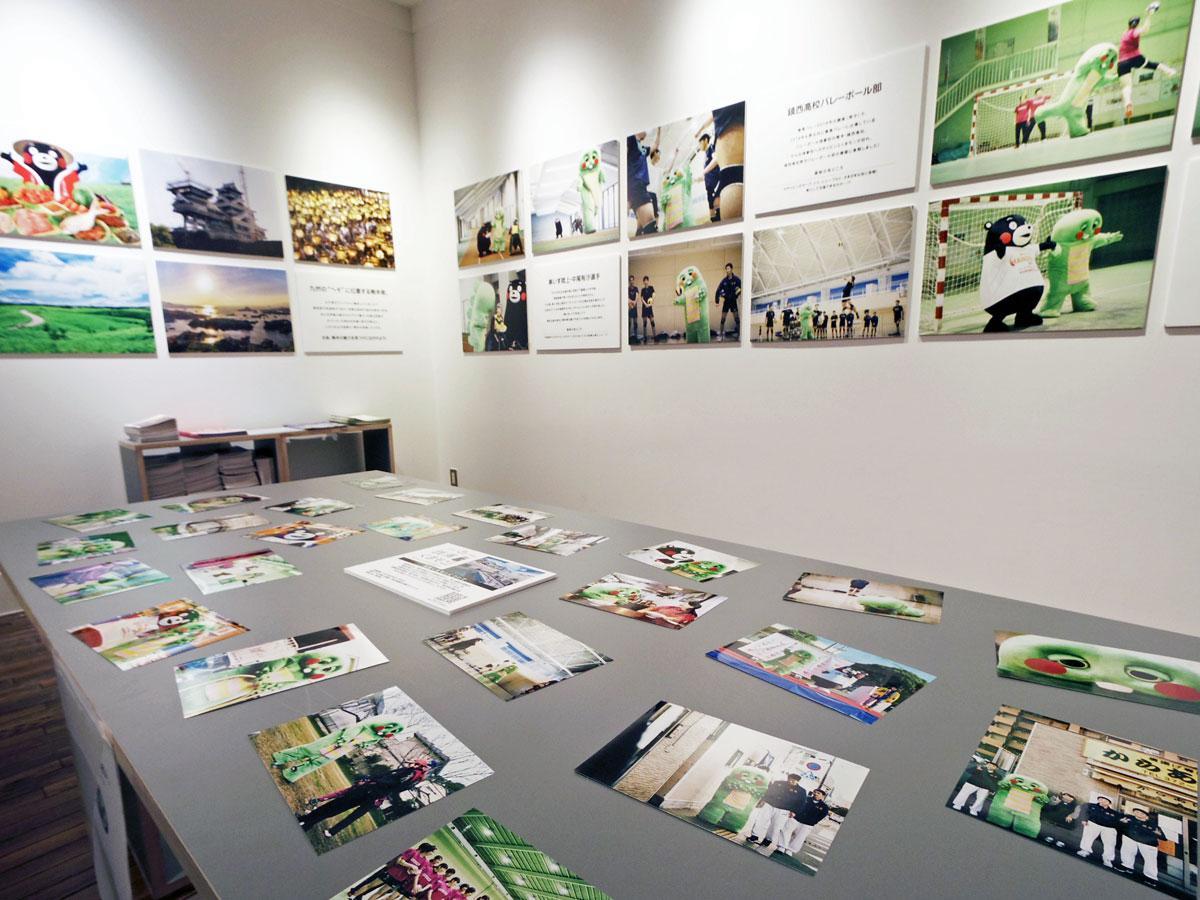 熊本でさまざまなスポーツに触れる様子をとらえた写真を展示する
