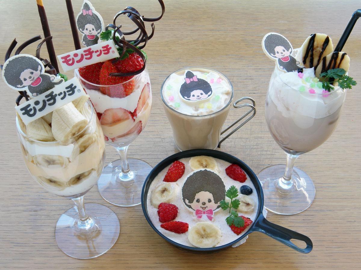 「カフェ クッチーナ&カンパニー」で提供するスイーツ類のイメージ