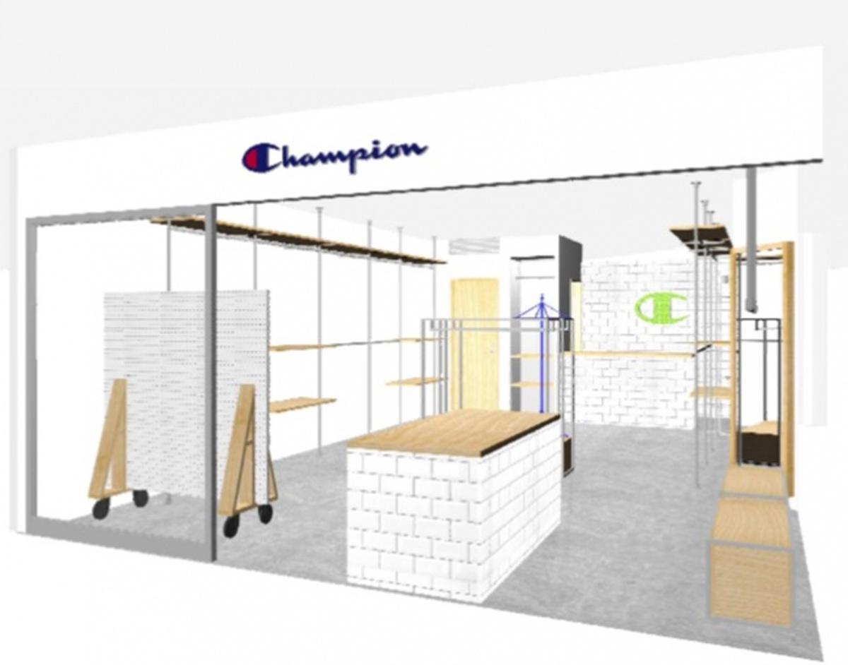 「Champion For her 渋谷109」店舗イメージ