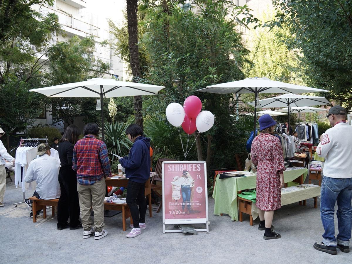 ファッション関係者が出店するフリマ(写真は前回開催時の様子)なども展開する
