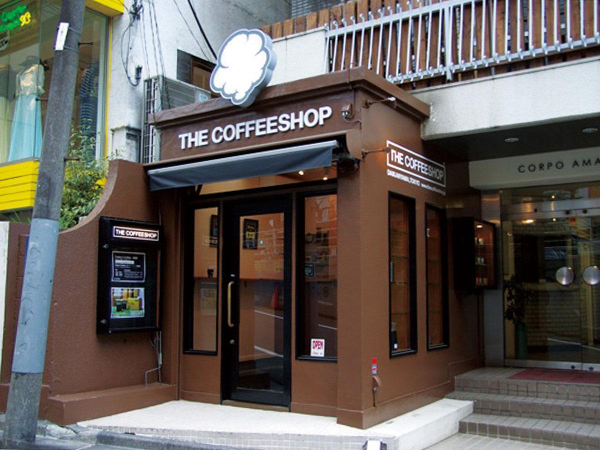 「THE COFFEESHOP」外観