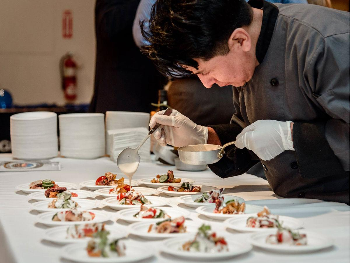 イタリアン30店が料理を提供する(写真は昨年アメリカで開催した際の様子)