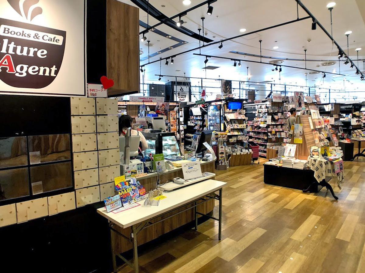 「CAカフェ・アニメガ渋谷店」店内