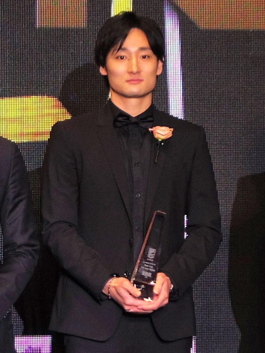 3年連続で「ベスト5」に選ばれた田中大貴選手