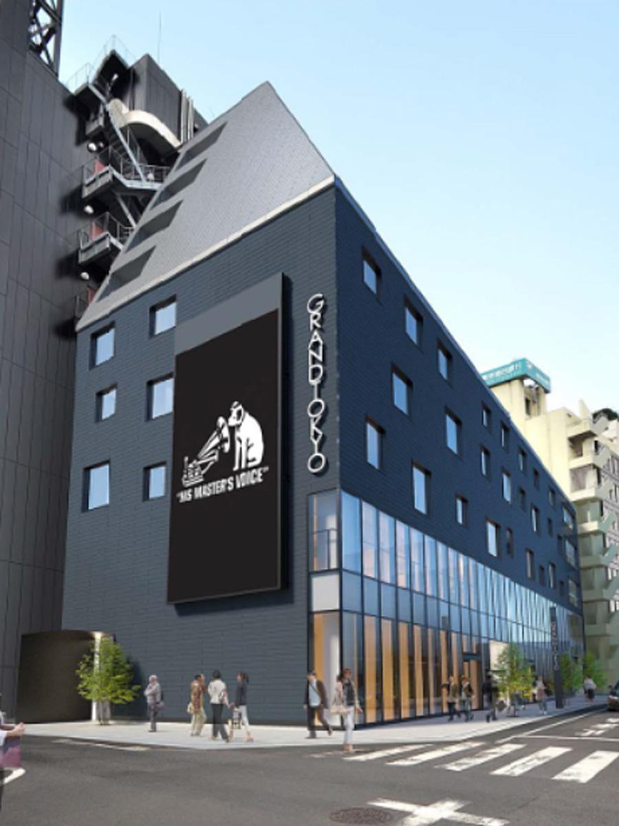「ビーツ・シブヤ」が入る渋谷センター街の新商業施設外観