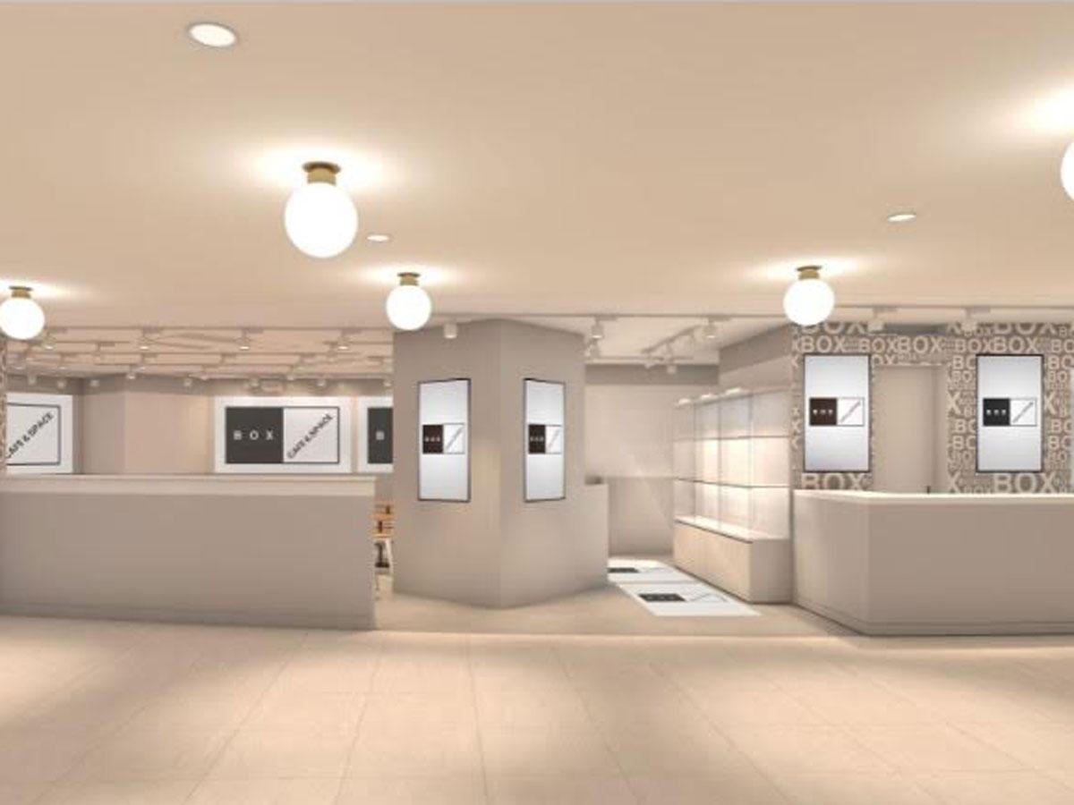 新設される食のフロアに出店する「SHIBUYA BOX CAFE&SPACE」のイメージ