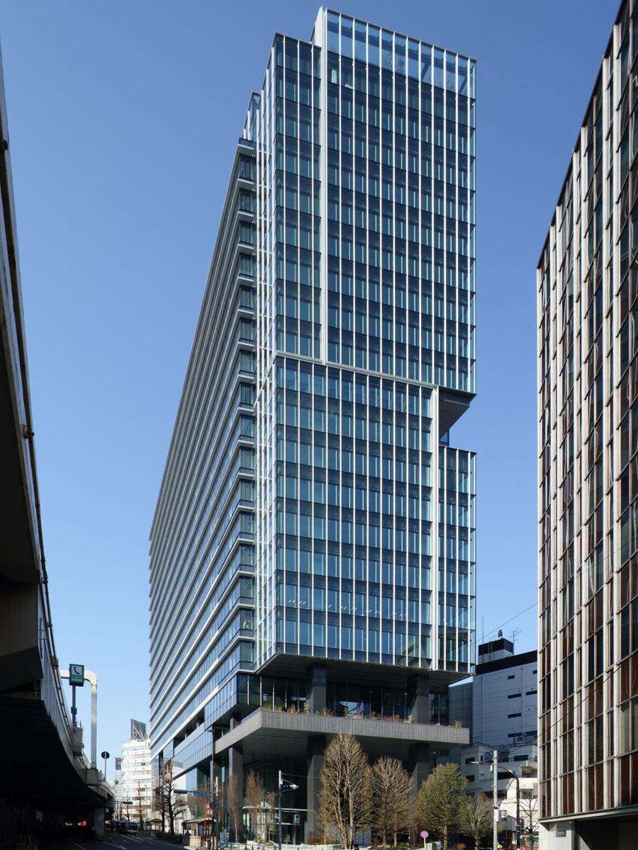 3月に完工した「渋谷ソラスタ」外観