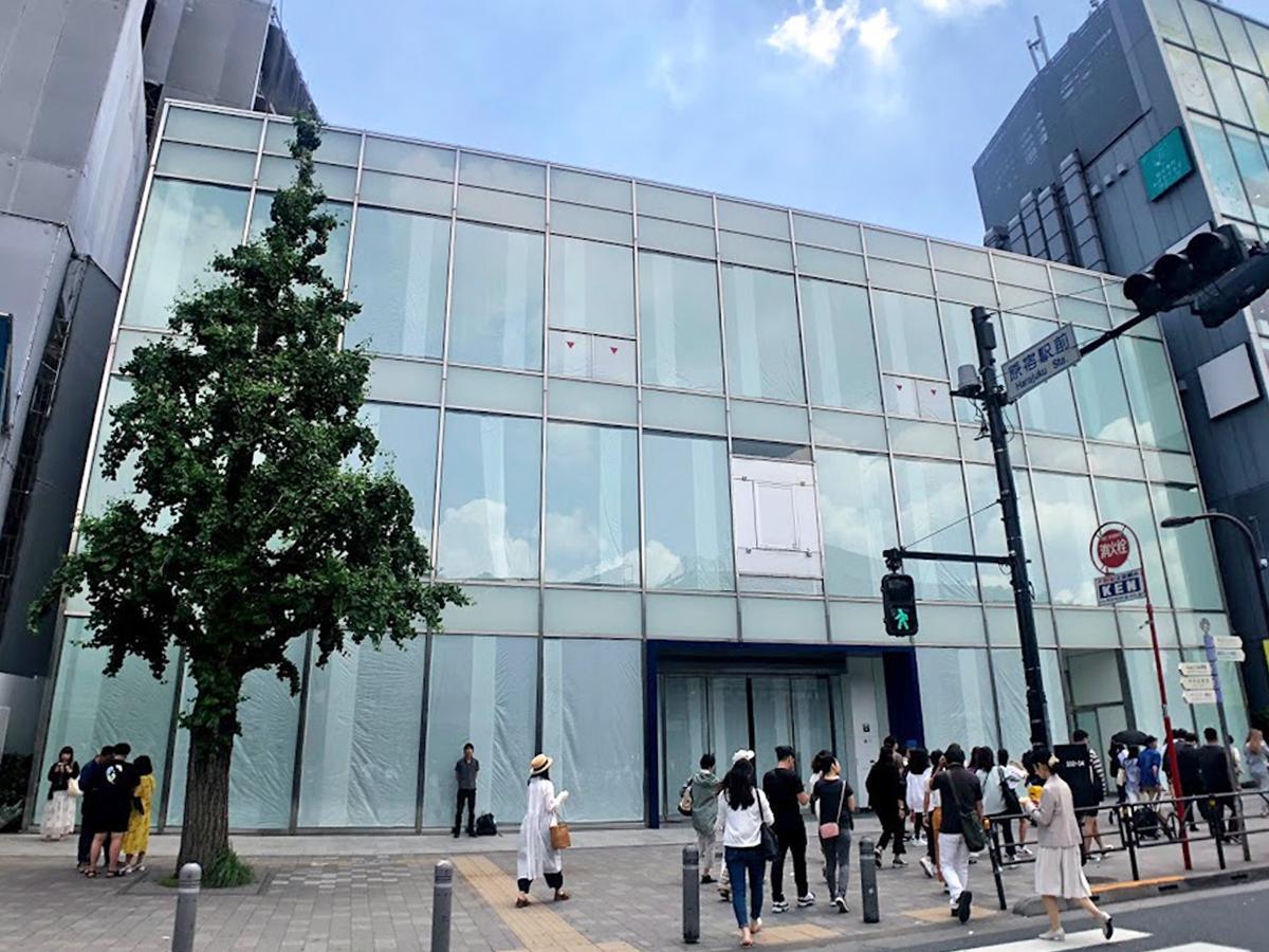 「アットコスメストア」大型路面店が出店する原宿・ギャップ跡(2019年5月撮影)