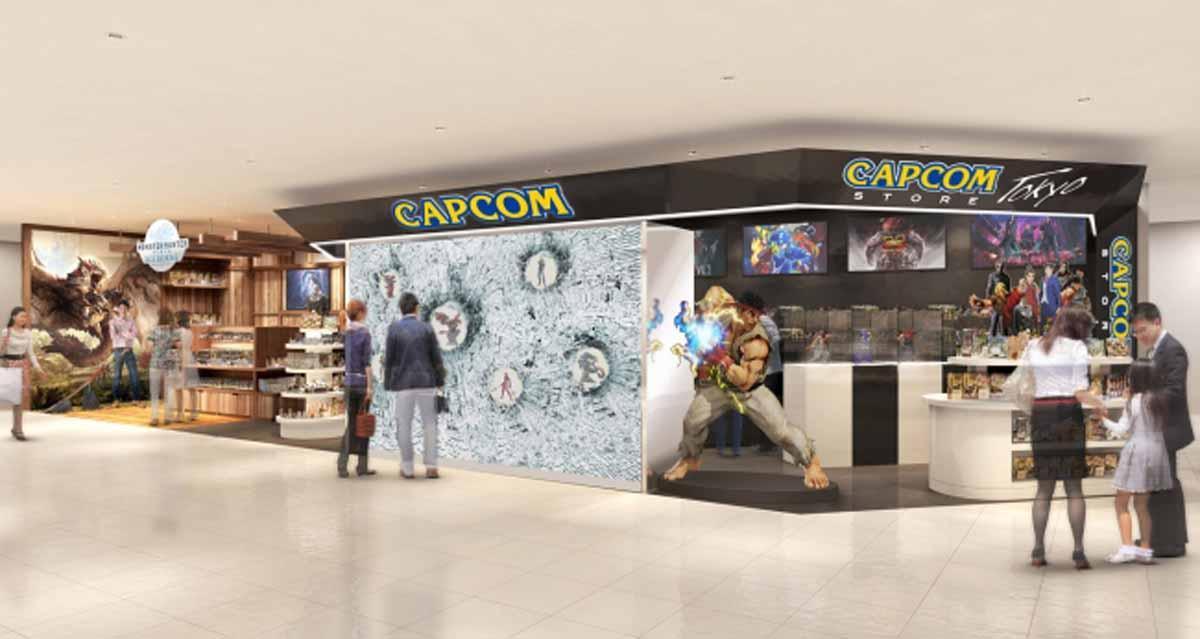 「CAPCOM STORE TOKYO」イメージ
