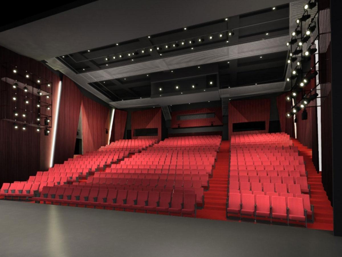 新しいパルコ劇場の客席イメージ