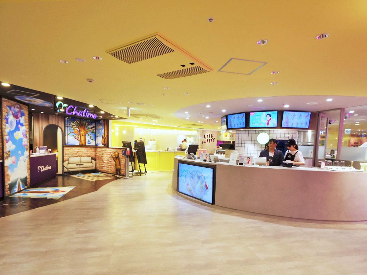 新しく飲食テナント7店などが出店する「MOG MOG STAND」