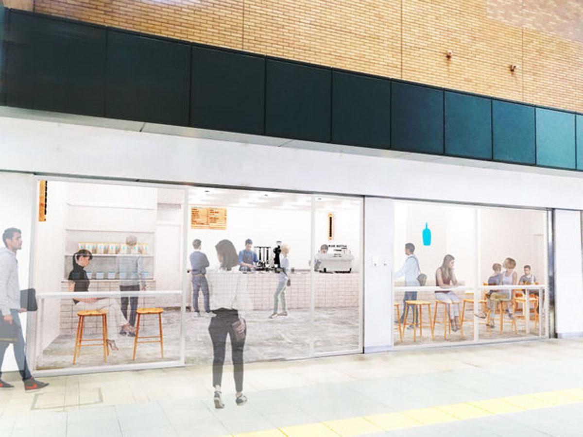 「ブルーボトルコーヒー」アトレ恵比寿店(外観イメージ)