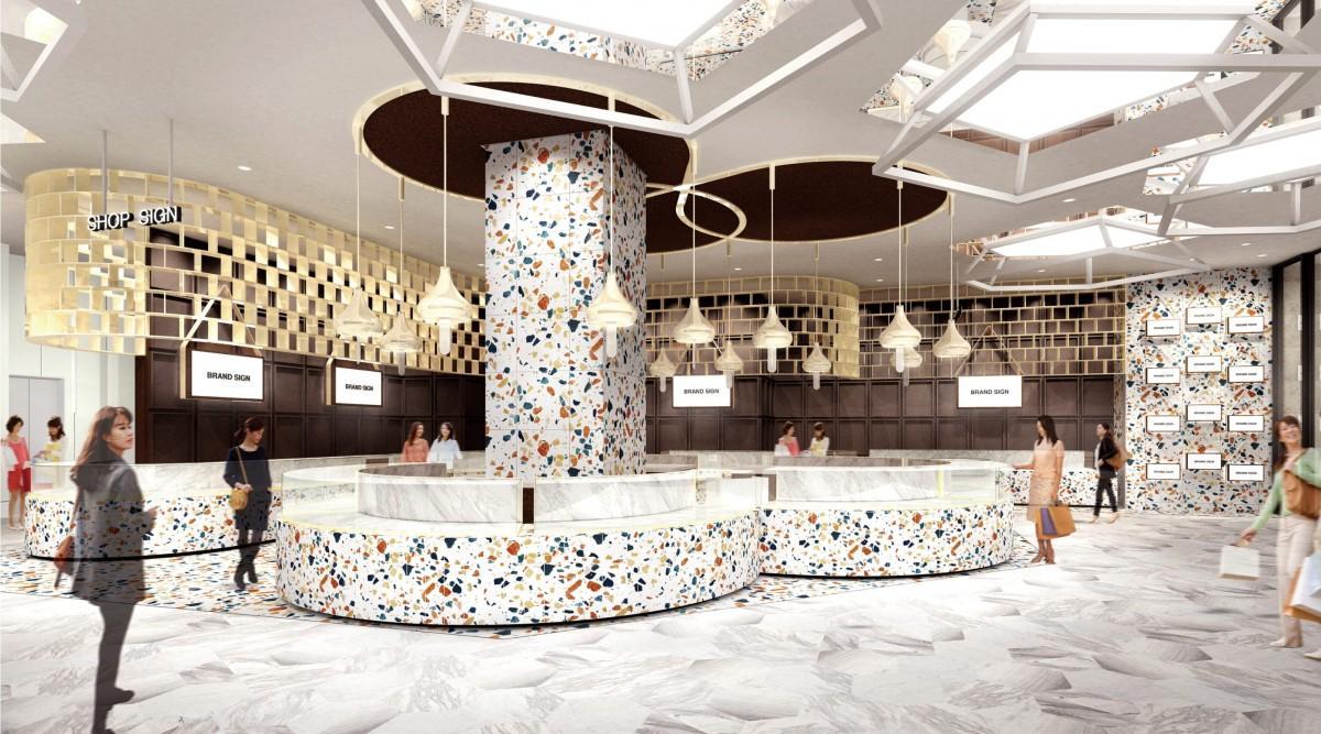 1階スイーツフロア「TOKYU Foodshow EDGE」のイメージ