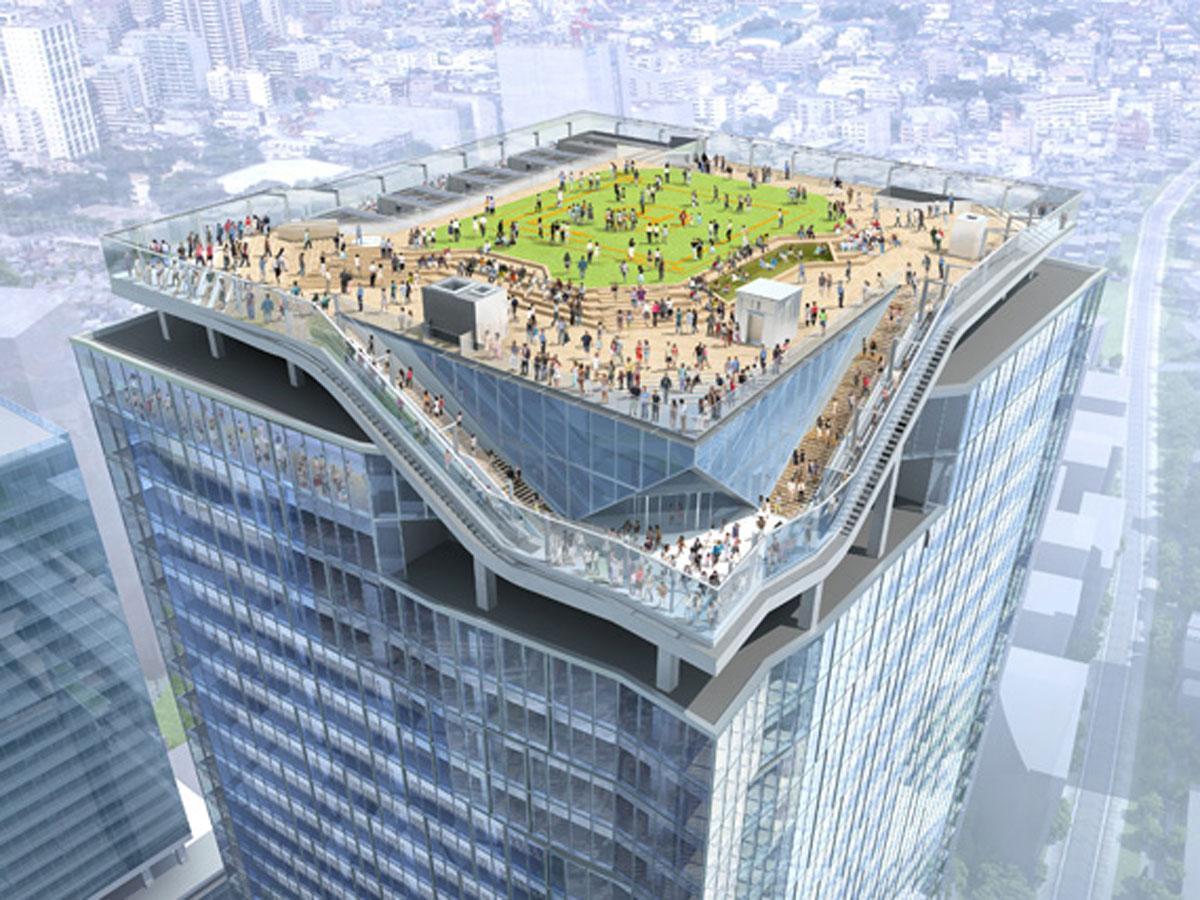 渋谷スクランブルスクエア(東棟)屋上展望施設「SHIBUYA SKY」のイメージ(写真提供:渋谷駅街区共同ビル事業者)
