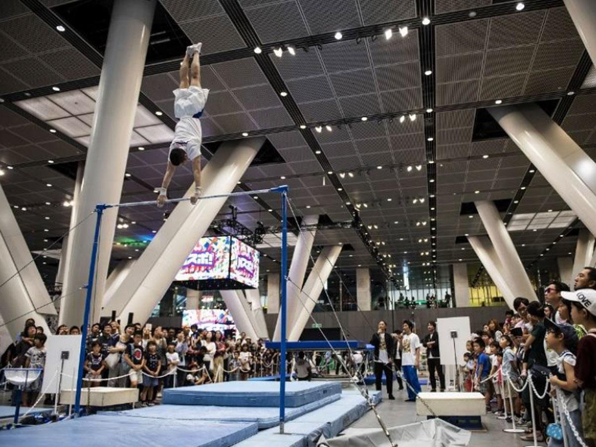 会場ではスポーツ競技のデモンストレーションなどを展開する(写真は昨年開催時の様子)