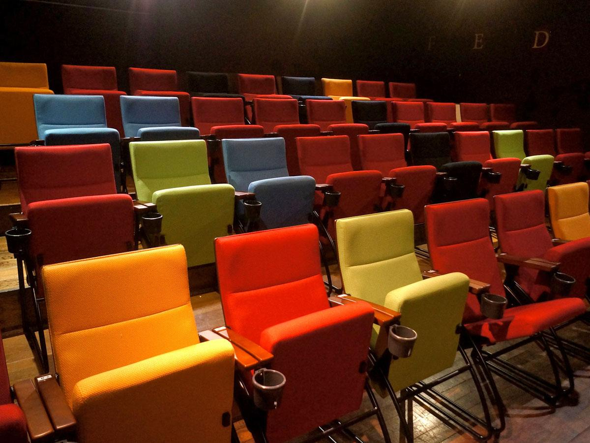 「アップリンク渋谷」(スクリーン1)劇場内