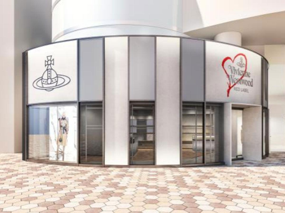 「Vivienne Westwood RED LABEL Concept Store」の外観イメージ