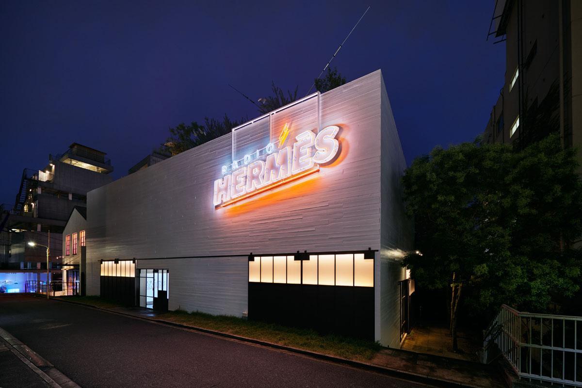 原宿にオープンした「ラジオエルメス」限定空間 ©Nácasa&Partneres Inc.
