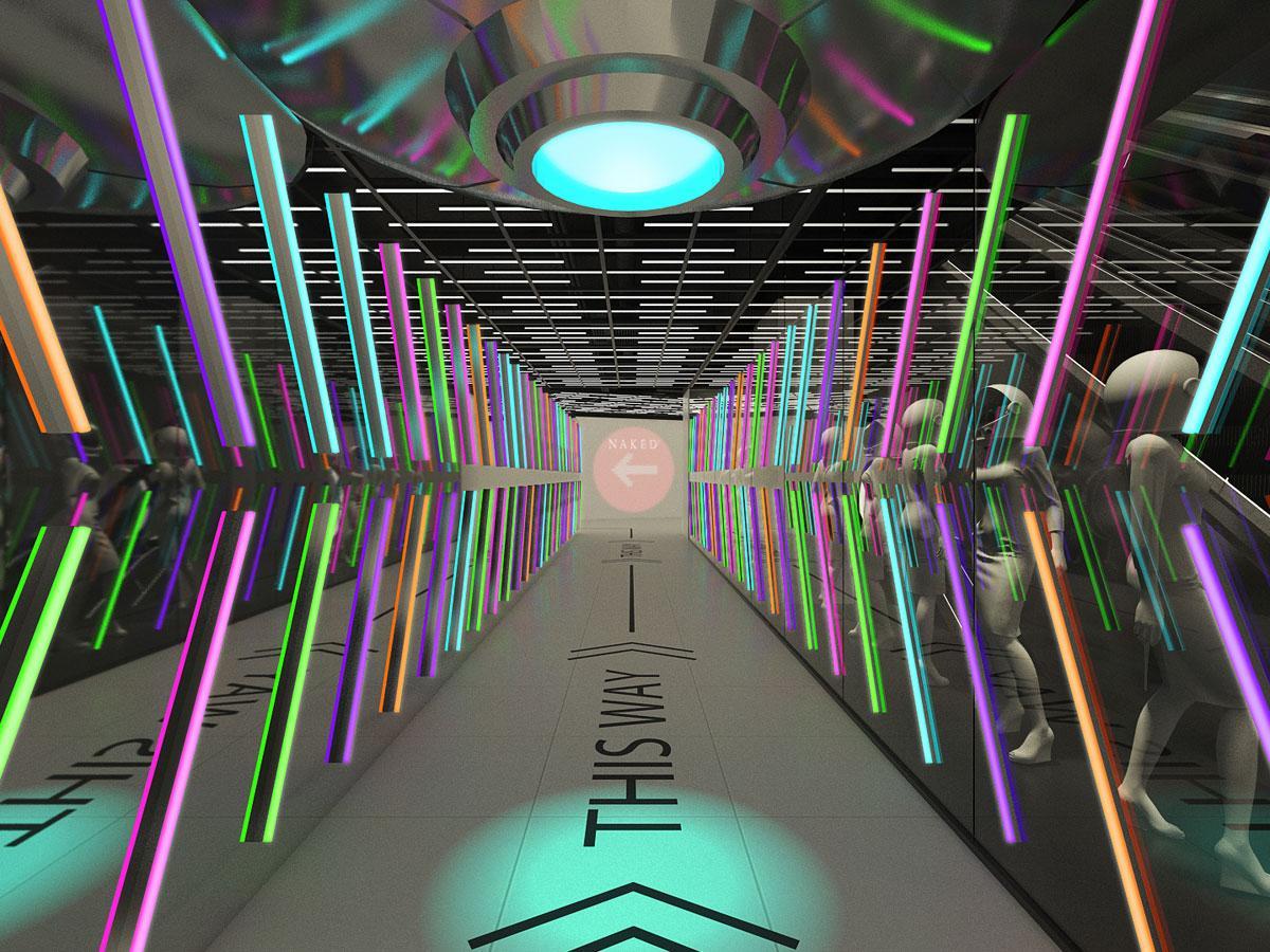 クリエーティブカンパニー「ネイキッド」が空間演出を手掛ける店内イメージ