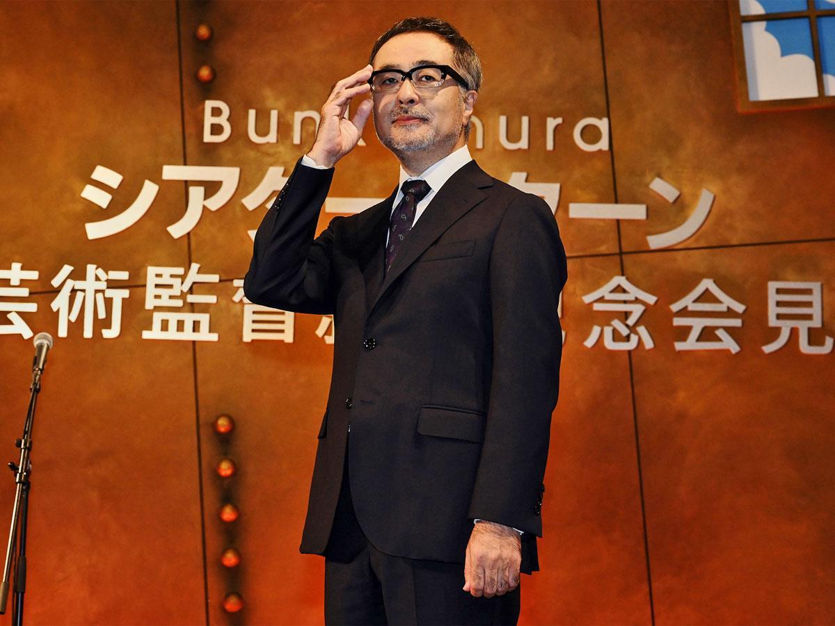 Bunkamuraシアターコクーンの芸術監督に就任した松尾スズキさん