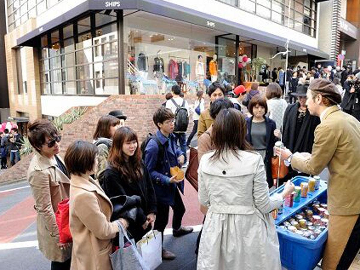 過去開催時の「渋谷ファッションフェスティバル」の様子