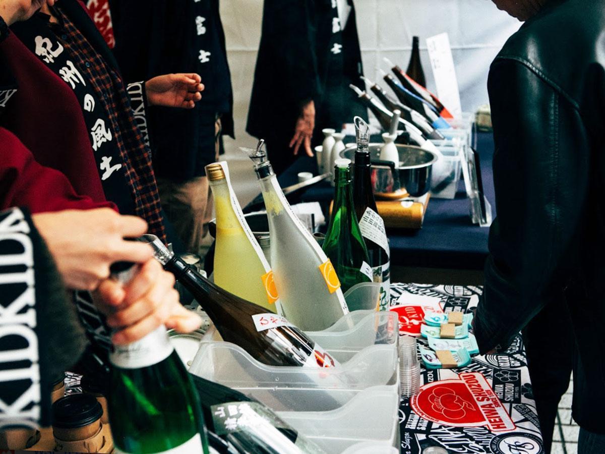 日本酒イベント「Aoyama Sake Flea」の過去開催時の様子