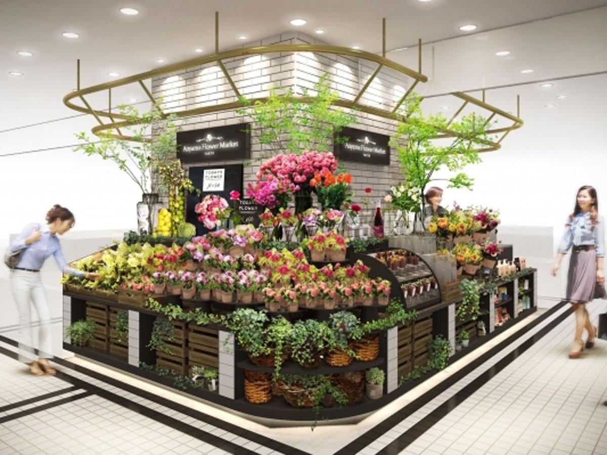 ブーケやフラワーアレンジメントのみを扱う「青山フラワーマーケット deli style」のイメージ