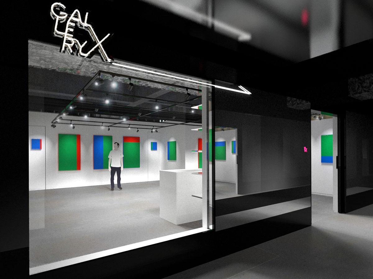 渋谷パルコ内に移転する「GALLERY X」のイメージ
