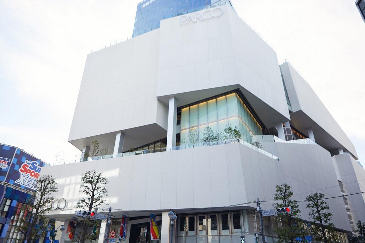 公開された「渋谷パルコ」外観