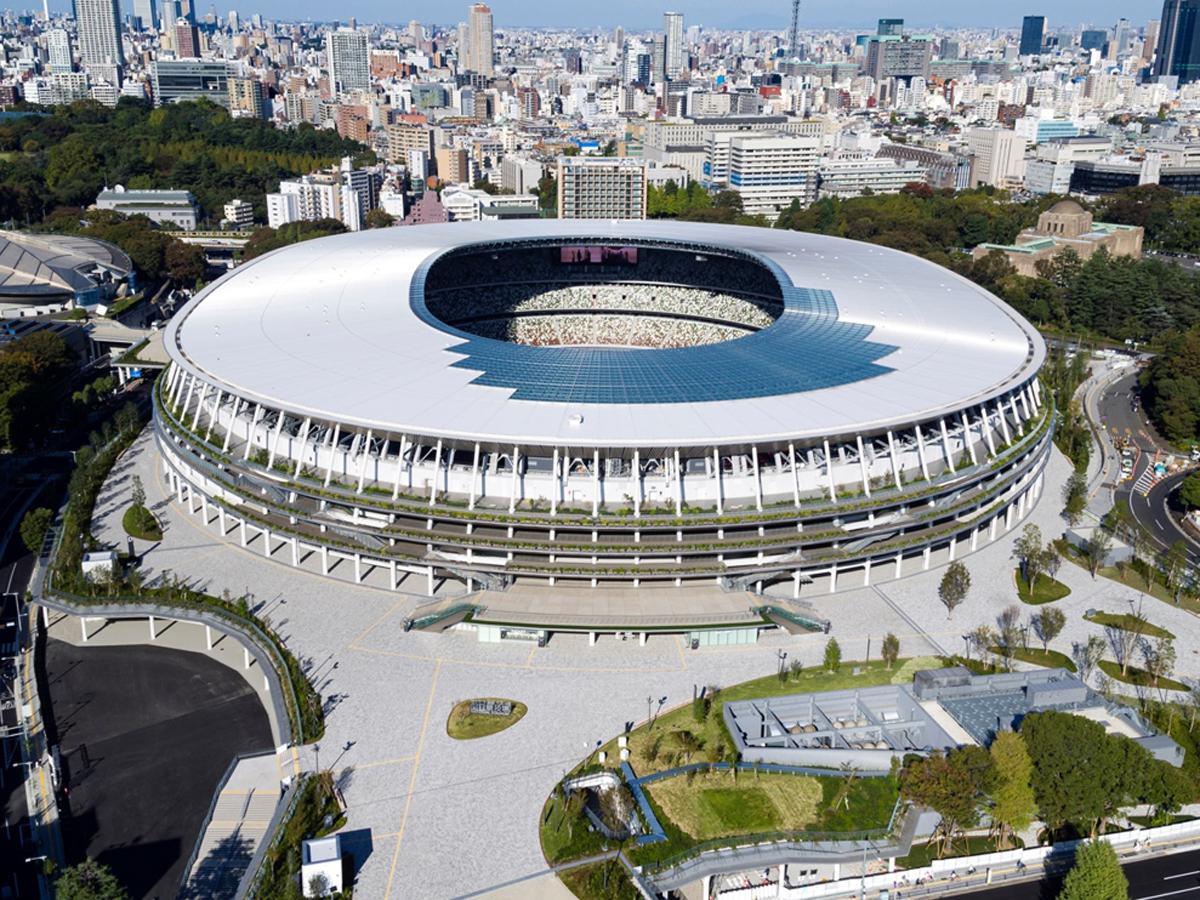 新「国立競技場」、11月30日完成へ 全工事終了、工事費1569億円に ...