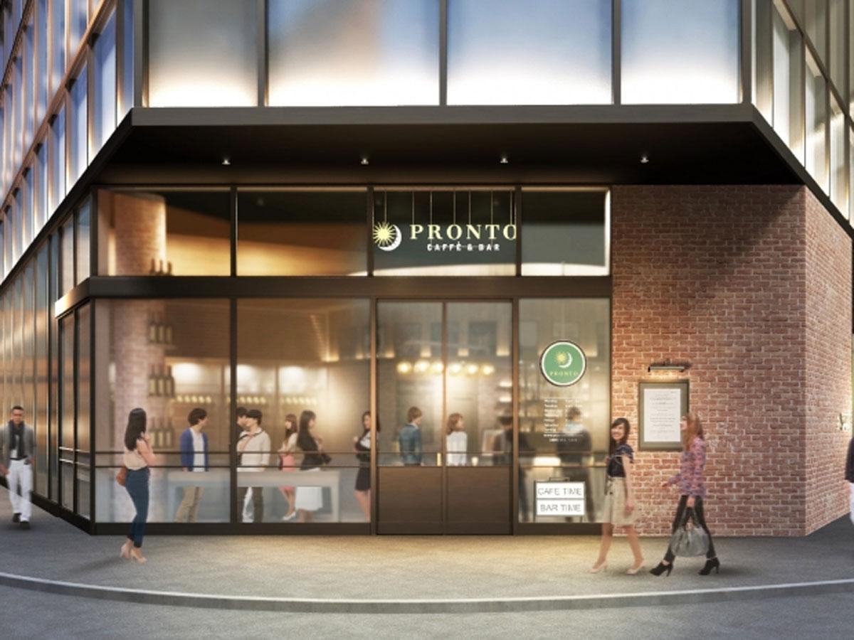 渋谷中央街の通りに面した場所に面する「PRONTO IL BAR」の外観イメージ