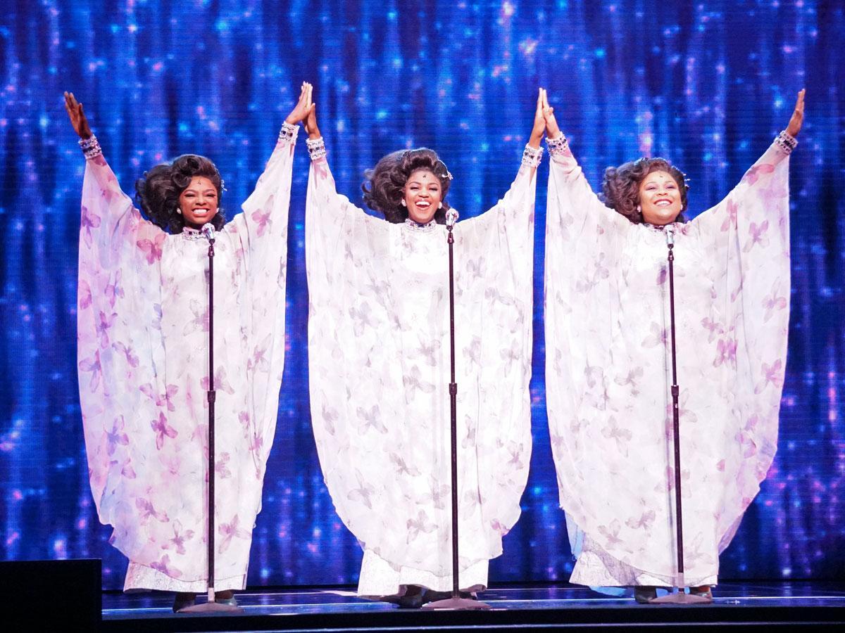東急シアターオーブでは3回目の公演となる「ドリームガールズ」©DREAMGIRLS2020TOKYO