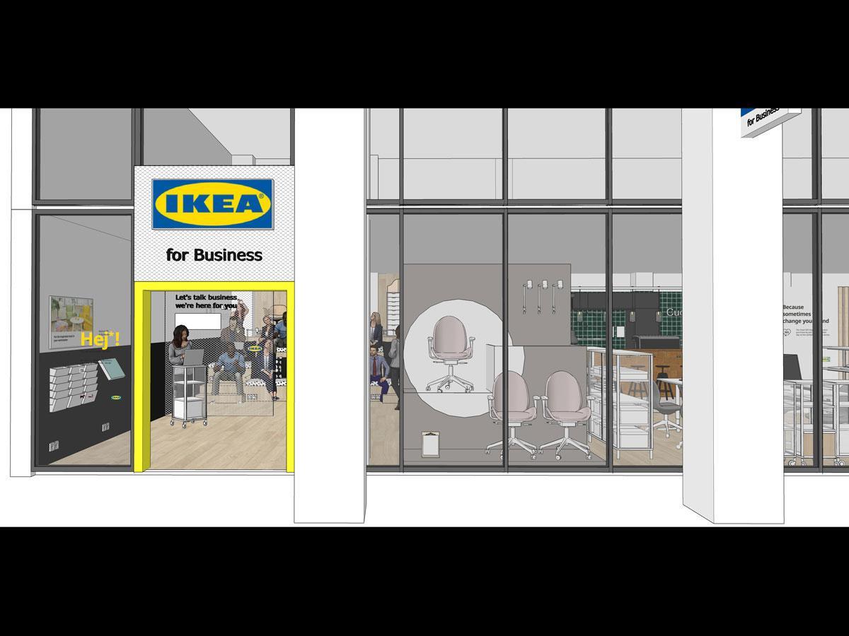 「IKEA for Business」の外観イメージ