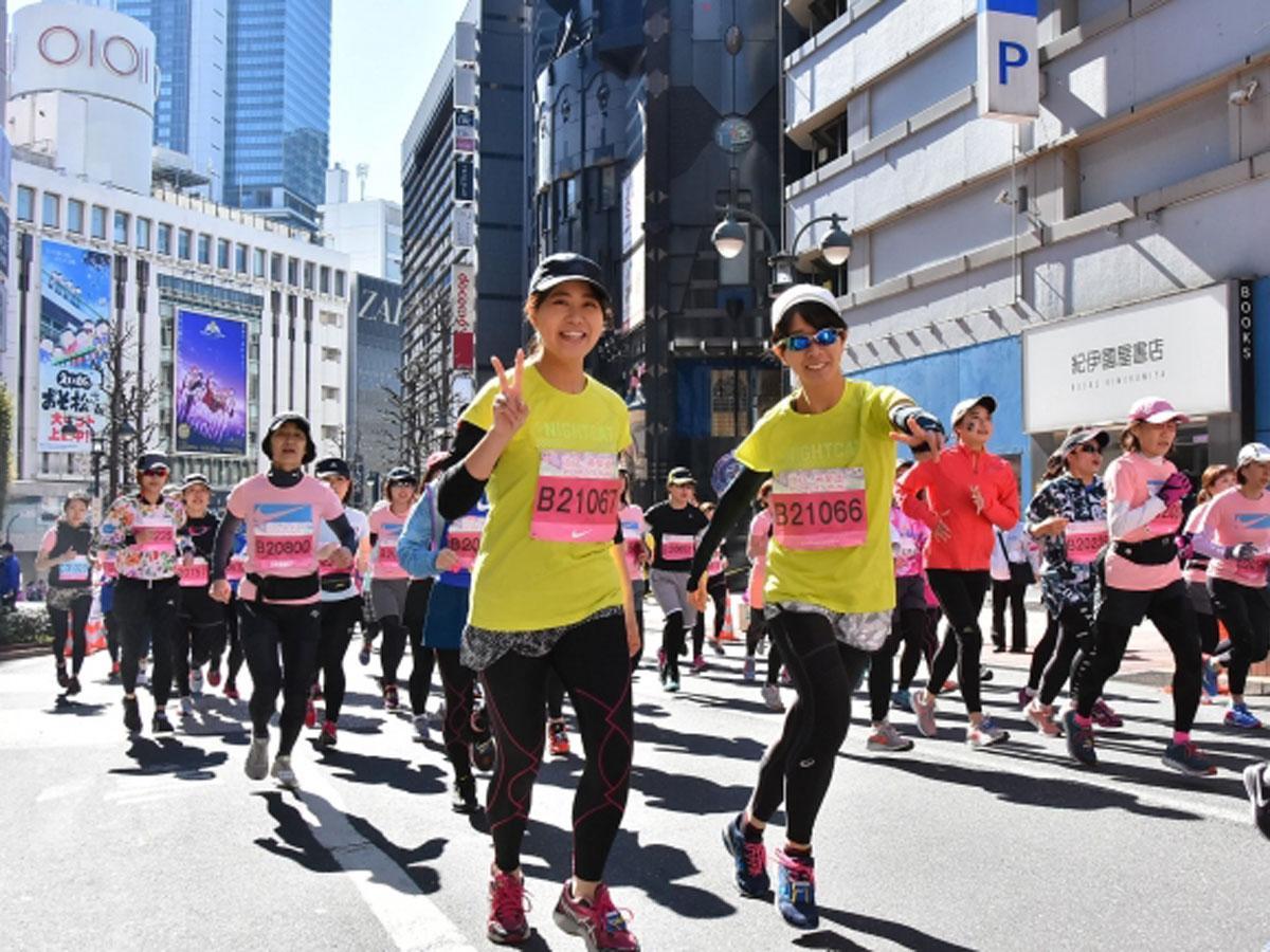 渋谷の街なかや明治神宮内をコースとする「渋谷・表参道ウィメンズラン」(写真は昨年開催時の様子)