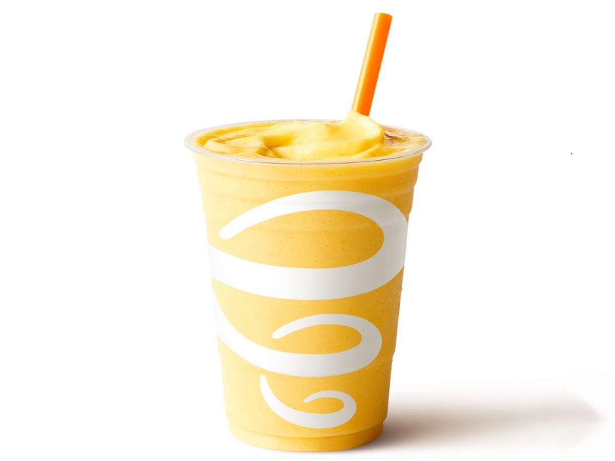 提供予定のスムージー「Mango-a-go-go」のイメージ