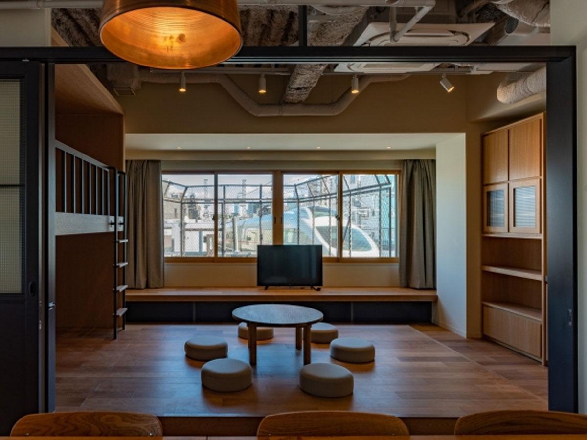 2階~4階に展開する「タイムシェア型レジデンス」(4階)の内装