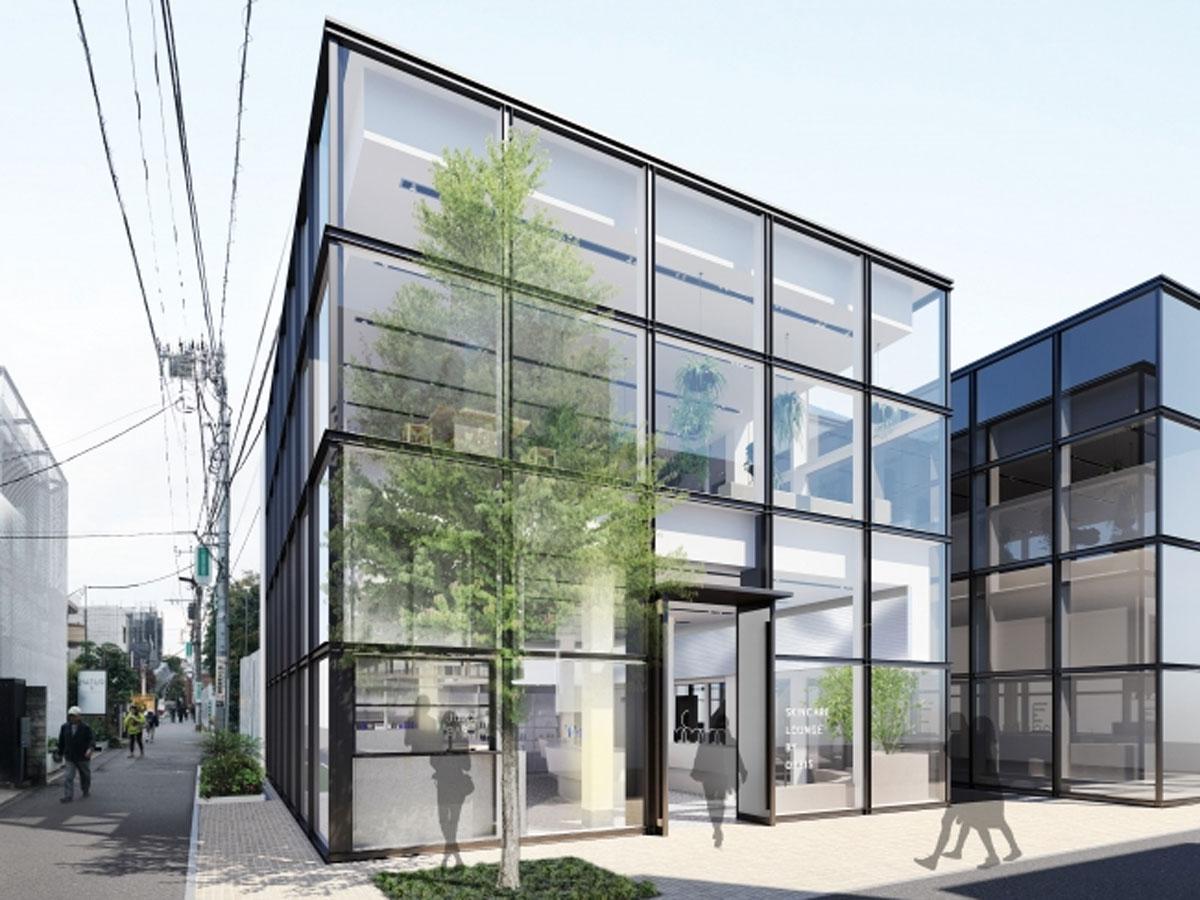 表参道ヒルズに出店する店舗外観イメージ