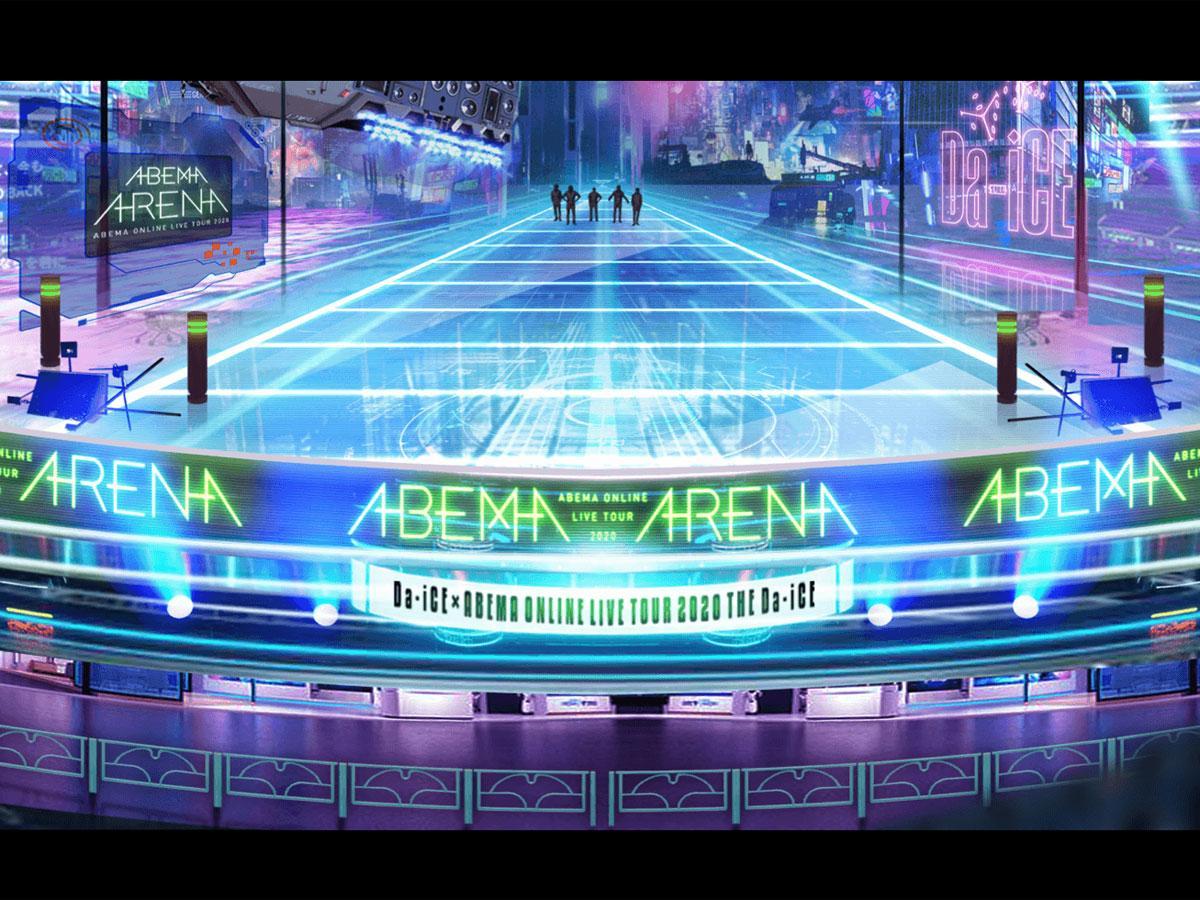 フル3DCGの「ABEMAアリーナ」のイメージ©AbemaTV,Inc.
