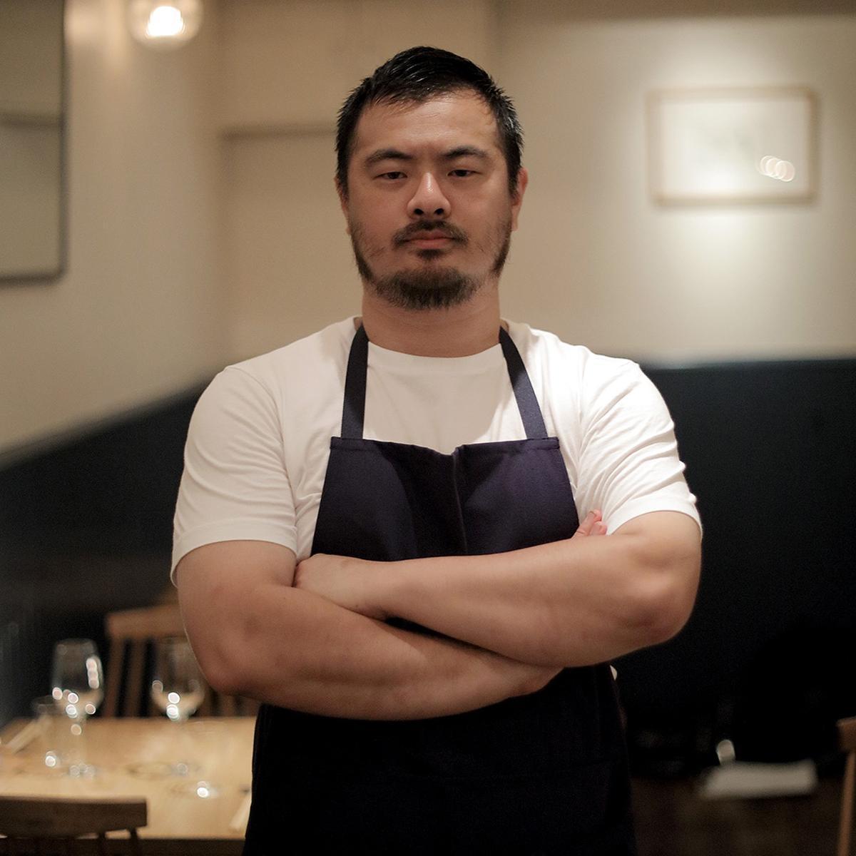 メニューのレシピを公開したレストラン「sio(シオ)」オーナーシェフの鳥羽周作さん