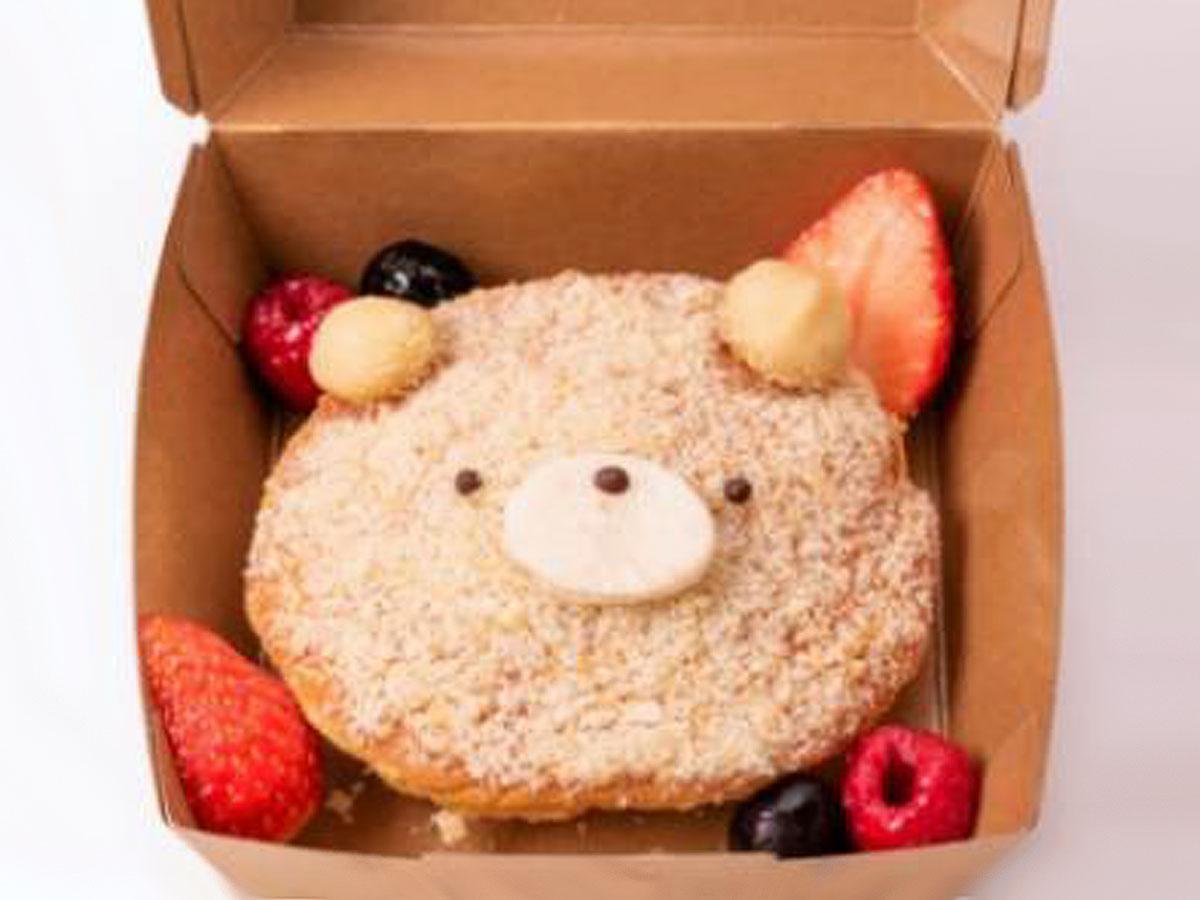 「とろけるクマさんパンケーキ」(税別450円)