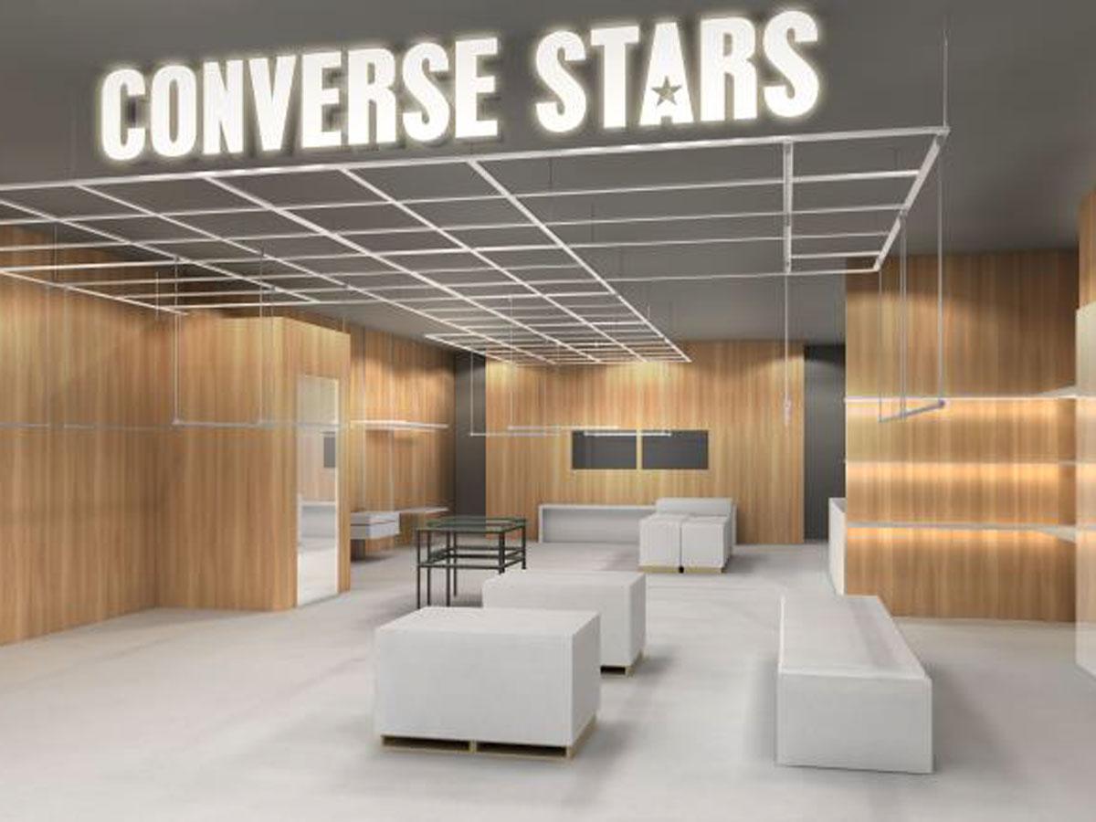 ミニマルでクリーンなインテリアを採用する店舗イメージ