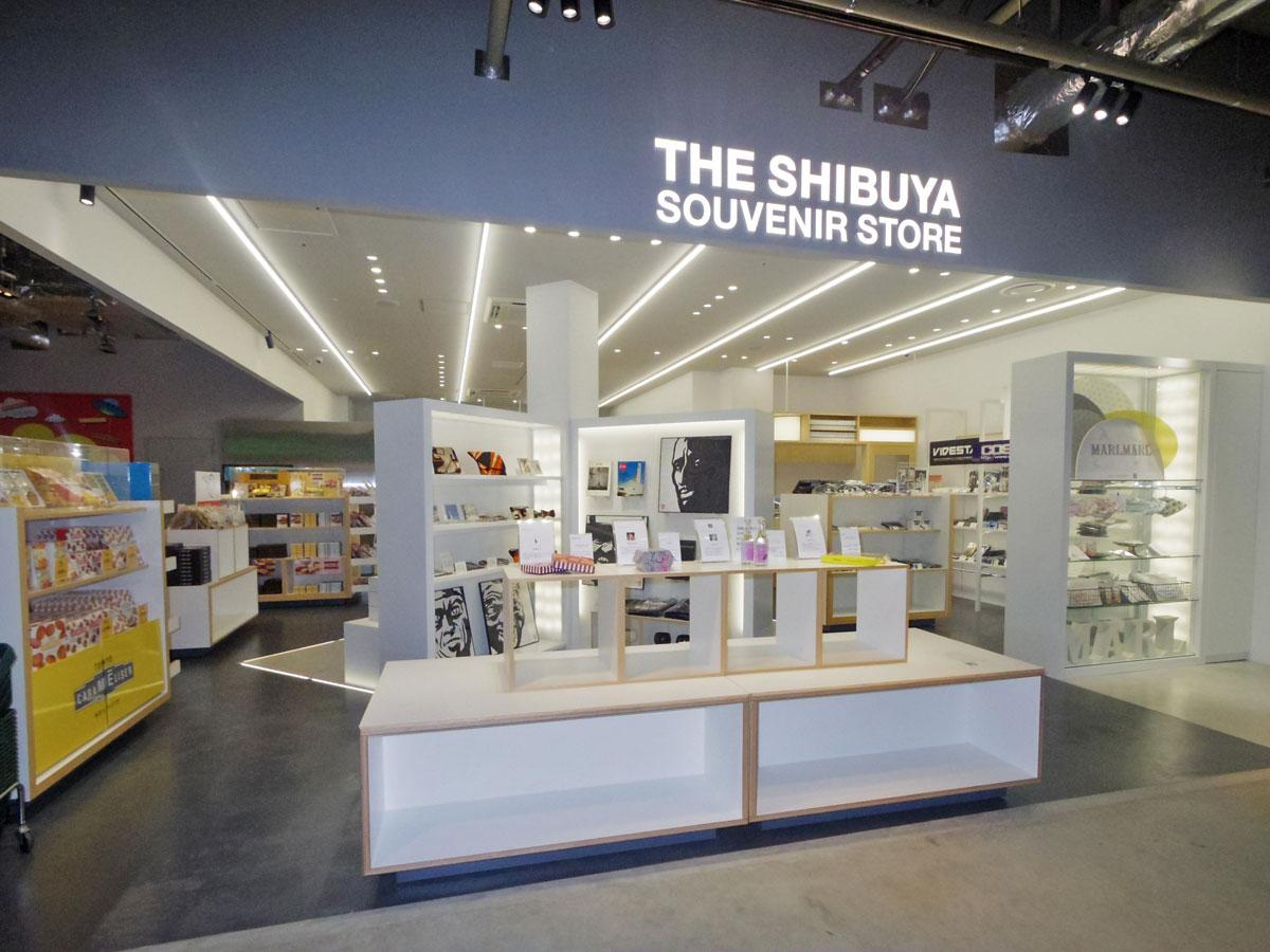 「THE SHIBUYA SOUVENIR STORE」の店頭