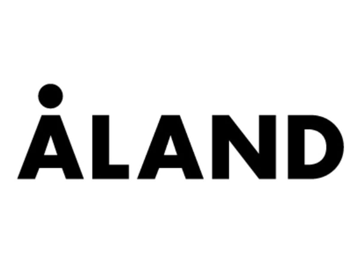 「ALAND」のロゴ