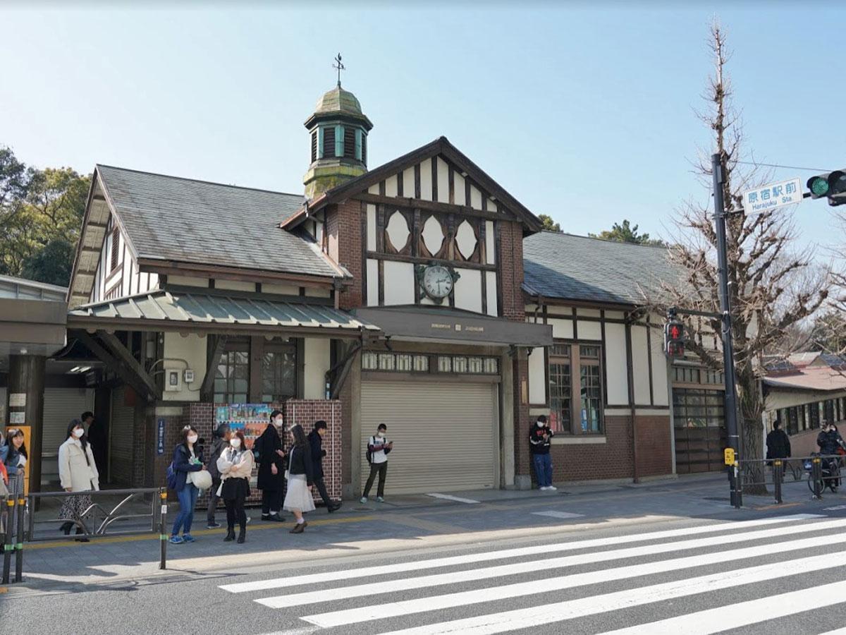 2代目のJR原宿駅・旧駅舎
